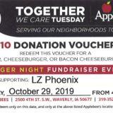 Together We Care Applebee's Voucher